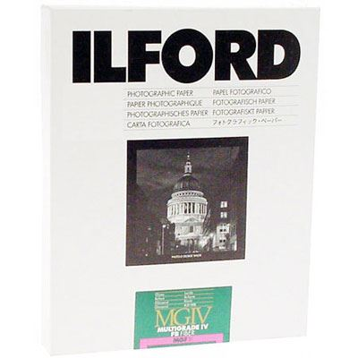 Image of Ilford MGFB5K 8x10 inch 25 sheets